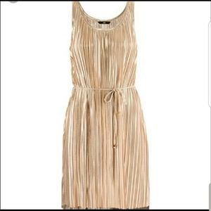 H&M golden dress